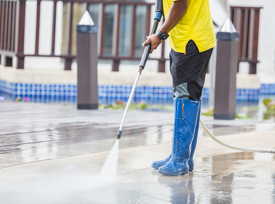 Commercial Pressure Washing West Palm Tamcare Services